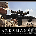 Marksmanship Inspirational Quote by Stocktrek Images