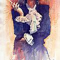 Marlen Dietrich  by Yuriy Shevchuk