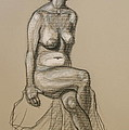 Marli - Seated Nude by Donelli  DiMaria