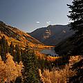 Maroon Lake In The Fall by Lee Kirchhevel