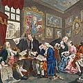 Marriage A La Mode, Plate I, The by William Hogarth