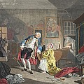 Marriage A La Mode, Plate V, The by William Hogarth
