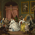 Marriage A-la-mode  The Toilette by William Hogarth