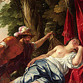 Mars And The Vestal Virgin by Jacques Blanchard