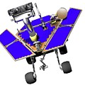 Mars Exploration Rover by Victor Habbick Visions/science Photo Library