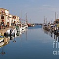 Marseillan Harbour by Louise Heusinkveld