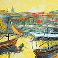 Marseille Harbour by Luke Karcz