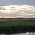 Marsh Sunset 1 by Ellen Meakin