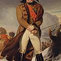 Marshal Michel Ney 1769-1815 Duke Of Elchingen Oil On Canvas by Eugene Battaille