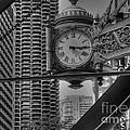 Marshall Field's Clock by David Bearden
