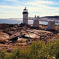 Marshall Point Light by Robert McCulloch