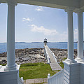 Marshall Point Lighthouse by Jack Nevitt