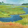 Marshes At High Tide by Claire Gagnon