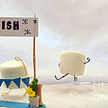 Marshmallow Marathon by Heather Applegate