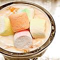 Marshmallow Peach Yogurt Parfait by Andee Design