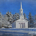 Martha Mary Chapel In Winter by Jayne Carney