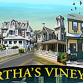 Martha's Vineyard Collage by Gerry Robins