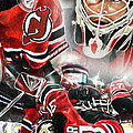 Martin Brodeur Collage by Mike Oulton
