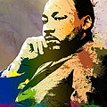 Martin Luther King Jr.  by Anthony Mwangi
