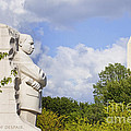 Martin Luther King Jr Memorial And The Washington Monument by B Christopher