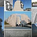 Martin Luther King Jr Memorial Collage 1 by Allen Beatty