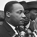 Martin Luther King, Jr by Warren K. Leffler