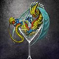 Martini Dragon by Stanley Morrison