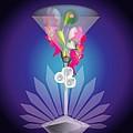Martini Flower by George Pasini