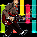 Marty Mcfly Plays Guitar Hero by Akyanyme
