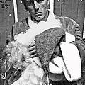 Marty Smith As Santa Claus Burger King Tucson Arizona 1982 by David Lee Guss