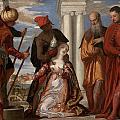 Martyrdom Of Saint Justina by Paolo Veronese