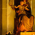 Mary And Baby Jesus by Syed Aqueel