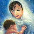 Mary And Baby Jesus by Vickie Wade