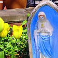 Mary In Springtime by Ed Weidman