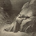 Mary Magdalene by Antique Engravings