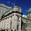 Mary Queen Of The World Cathedral Montreal by Jason O Watson