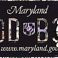 Maryland License Plate by Jeelan Clark