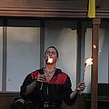 Maryland Renaissance Festival - Johnny Fox Sword Swallower - 121296 by DC Photographer