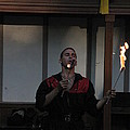 Maryland Renaissance Festival - Johnny Fox Sword Swallower - 121299 by DC Photographer