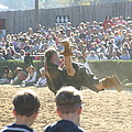 Maryland Renaissance Festival - Jousting And Sword Fighting - 1212110 by DC Photographer