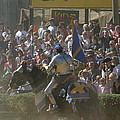 Maryland Renaissance Festival - Jousting And Sword Fighting - 1212201 by DC Photographer