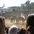 Maryland Renaissance Festival - Jousting And Sword Fighting - 1212203 by DC Photographer