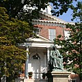 Maryland State House And Statue by Christiane Schulze Art And Photography