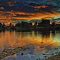 Mary's Lake Sunrise by Tom Wilbert