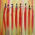 Masai Warriors by Abu Artist