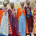 Masai Women Kenya by Bill Bachmann