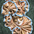 Maschera Di Carnevale by Liz Leyden