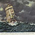 Masefield Sea Fever, 1902 by Granger