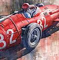 Maserati 250f J M Fangio Monaco Gp 1957 by Yuriy  Shevchuk