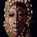 Mask From Ivory Coast by Vanessa Vick